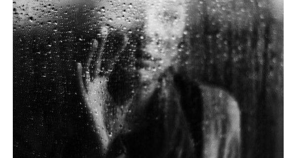 Through glass dimly