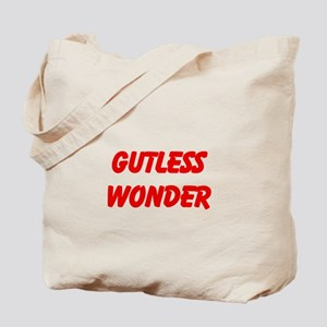 Gutless Wonder tote bag